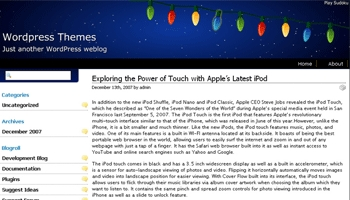 snowychristmas 40+ Themes WordPress con Motivos Navideños