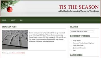 tistheseason 40+ Themes WordPress con Motivos Navideños