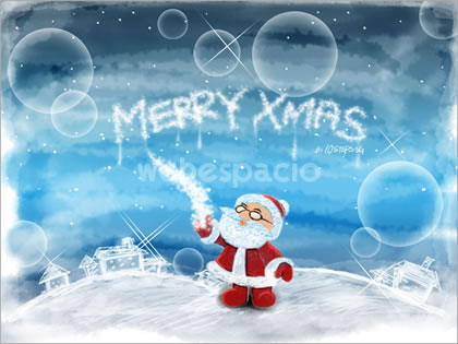 tutorial wallpaper de navidad en photoshop