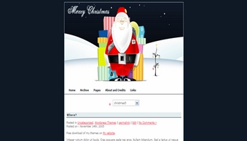 v4nychristmas 40+ Themes WordPress con Motivos Navideños