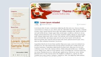 whbchristmas 40+ Themes WordPress con Motivos Navideños