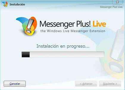 instalacion messenger plus