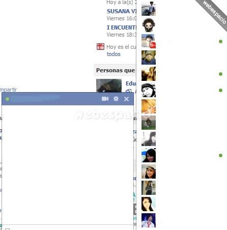chatear en facebook