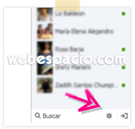 configurar  disponibilidad chat