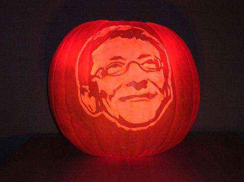 bill-gates-pumpkin-face