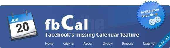 calendarios facebook