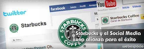 starbucks y social media