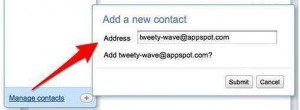 twitter y google wave