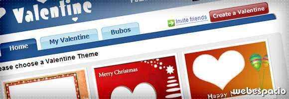 app valentine para facebook