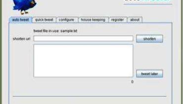 Tweets automáticos de Google Desktop para Twitter