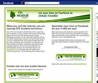 Facebook busca neutralizar las emisiones de Carbono