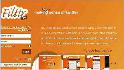 Le da sentido a Twitter