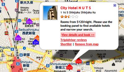 Mostrará precios de los hoteles