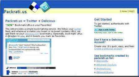 Tú marcador de enlaces en Twitter