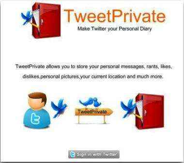 TweetPrivate hace de Twitter tu diario personal