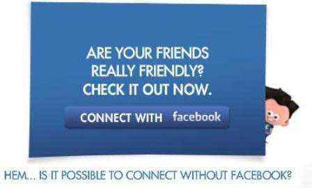 Lanza promoción en Facebook Connect