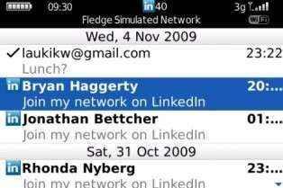 Lanzan LinkedIn para BlackBerry