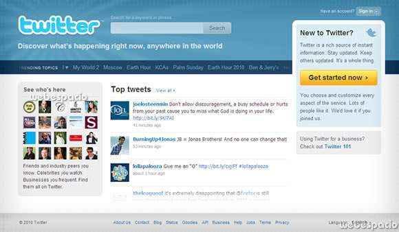 Se desactivo temporalmente el nuevo twitter