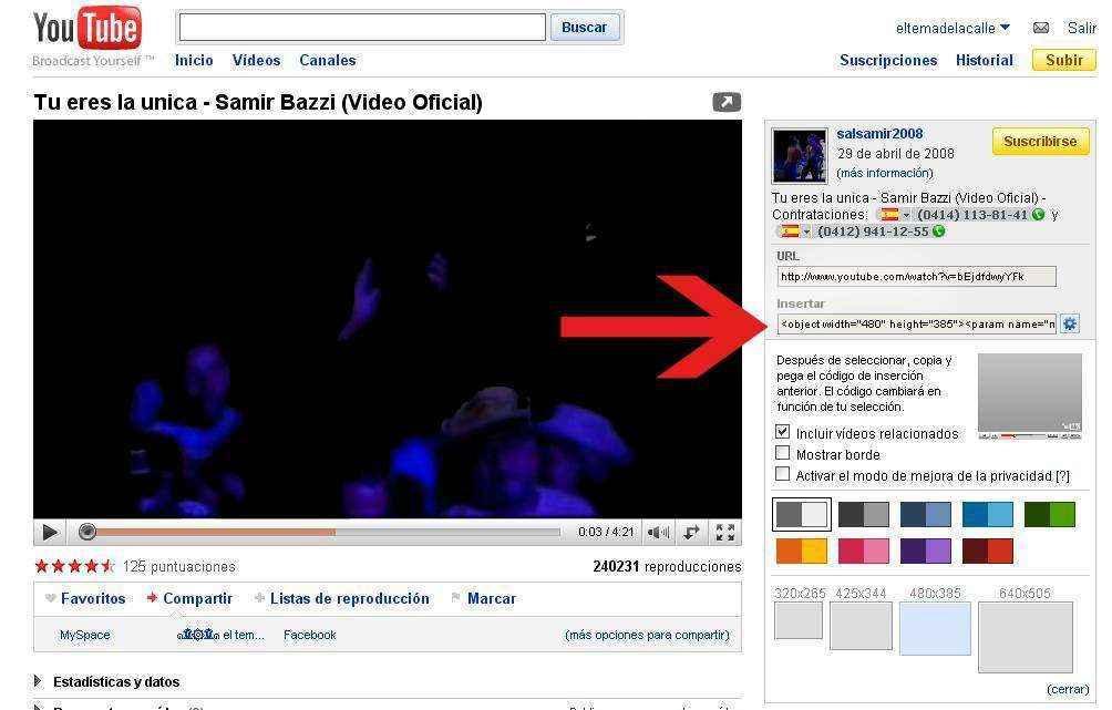 reproducir videos automaticamente en hi5