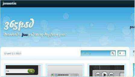 Descarga Psd gratis diariamente con 365psd.com