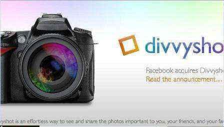 Facebook adquiere Divvyshot para compartir fotos online