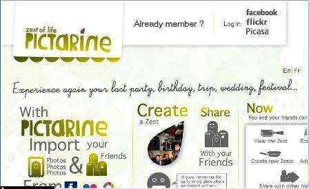 Lo mejor de Flickr y Facebook unidos en Pictarine.com
