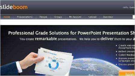 Comparte tus Presentaciones PowerPoint en línea con SlideBoom.com