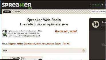 Crea tu propia Radio Internet con Spreaker.com