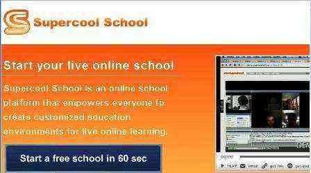 Educación online con SupercoolSchool.com