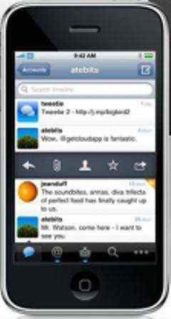 Twitter para el iPhone con Tweetie