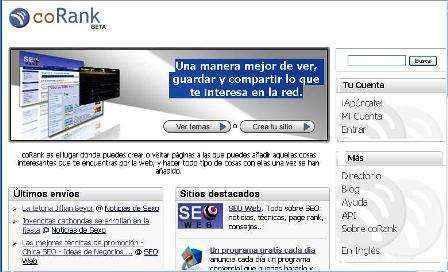 Crea tu propio contenido social  en CoRank.com