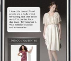 Estilistas de la revista Glamour entrenados en tu iPhone con Like.com
