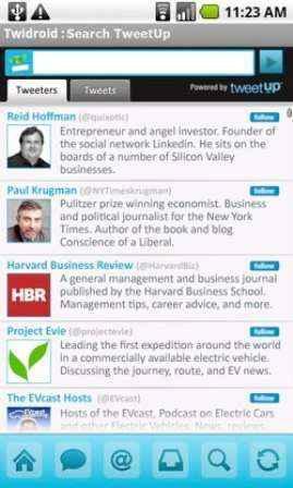 Idealab lanza Tweetup para Twitter
