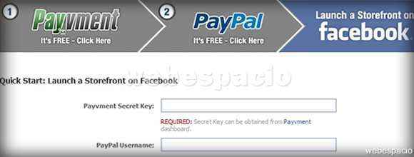Payvment en Facebook