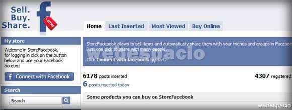 Social Store en Facebook