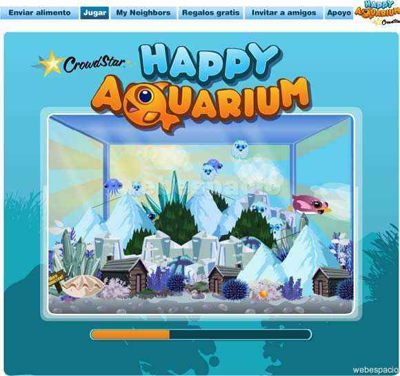 juego happy aquarium en facebook
