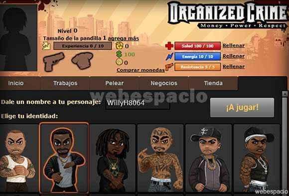 juego organized crime en hi5