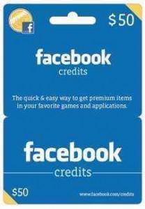 facebook tarjeta regalo
