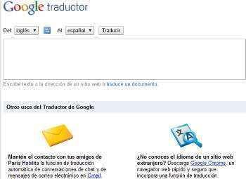google traductor nuevo