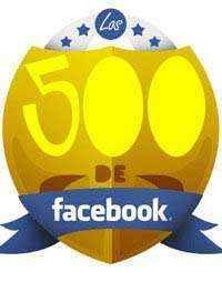 los 500 facebook