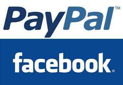Paypal facebook