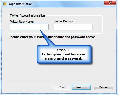 TwInbox registro Twitter