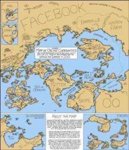 mapa mundo redes sociales