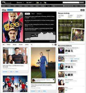 recomendaciones intereses myspace