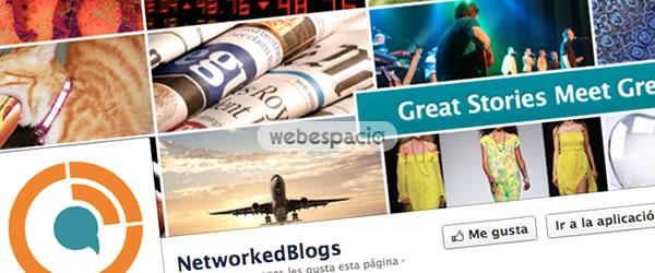 NetworkedBlogs app facebook