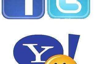 Twitter Faceboo YahooMessenger