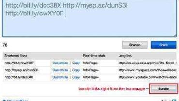 bit.ly paquete enlaces