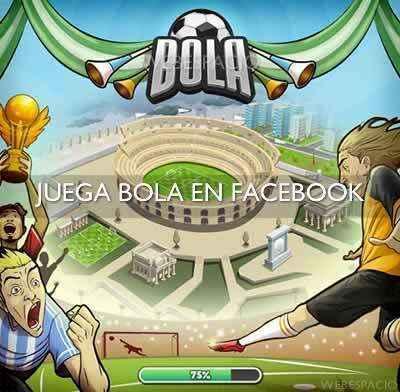 juego bola de facebook
