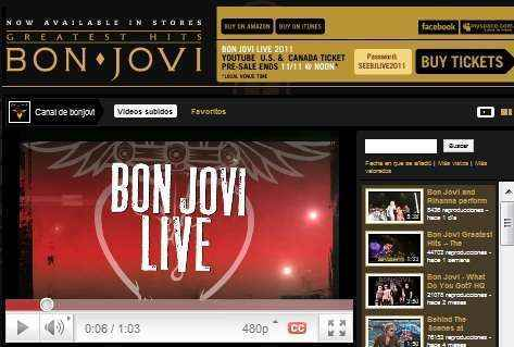 bon jovi youtube