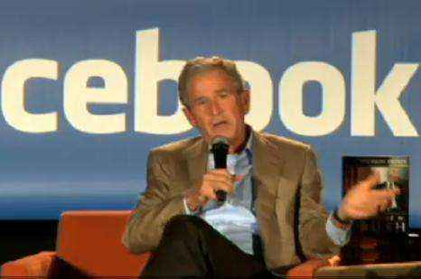 bush facebook